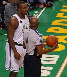 Glen Davis is getting big minutes for the Boston Celtics.
