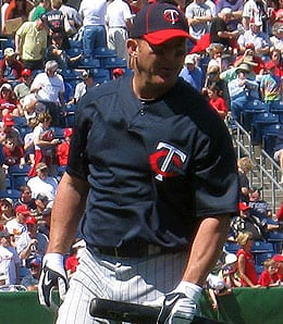 Jim Thome had a great year for the Minnesota Twins.