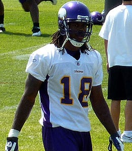 Sidney Rice is trying to come back for the Minnesota Vikings.