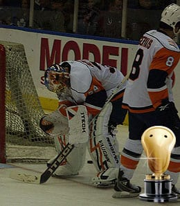 Rick DiPietro is barely ever healthy for the New York Islanders.