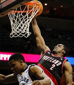 Wesley Matthews has been racking up the points for the Portland Trail Blazers.