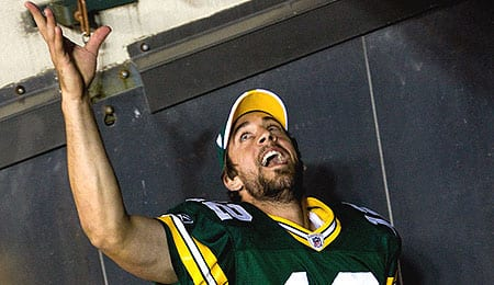 Aaron Rodgers has the Green Bay Packers back to the Super Bowl.