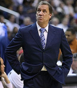 Flip Saunders has the Washington Wizards playing a bit better lately.