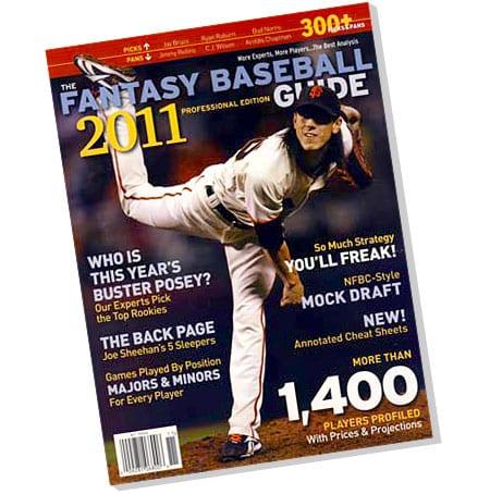 2011 Fantasy Baseball Guide