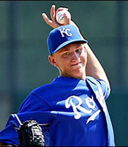 Mike Montgomery looks like a future ace for the Kansas City Royals.