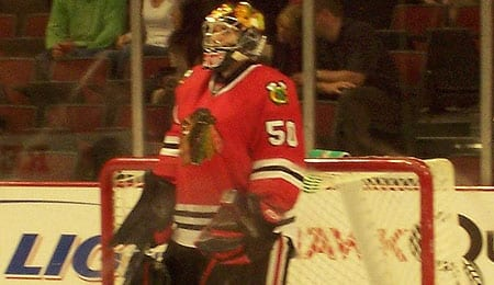 Corey Crawford has become the man between the pipes for the Chicago Blackhawks.
