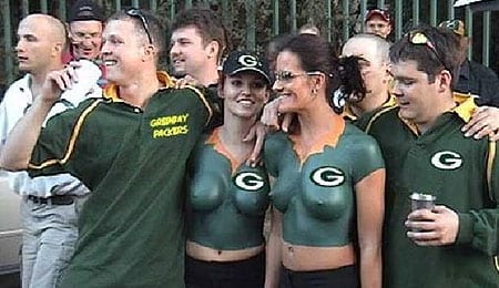 Green Bay Packers breasts