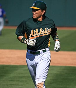 Hideki Matsui is showing signs of life for the Oakland A's.