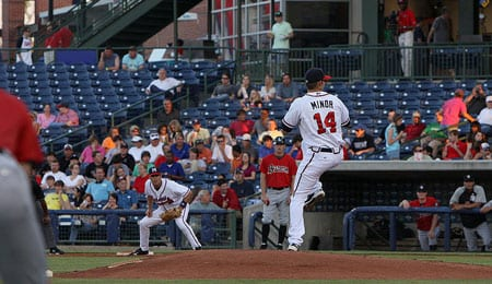 Mike Minor has excelled at Triple-A for the Atlanta Braves.