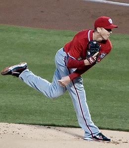 Tom Gorzelanny had another great outing Saturday for the Washington Nationals.