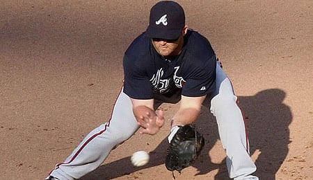 Dan Uggla is struggling badly for the Atlanta Braves.