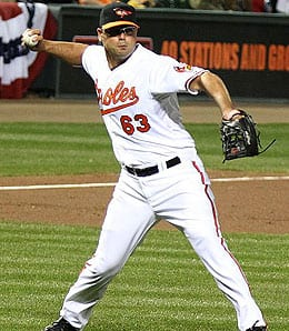Kevin Gregg is on thin ice for the Baltimore Orioles.