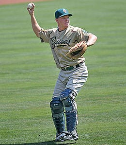 Nick Hundley is heating up for the San Diego Padres.