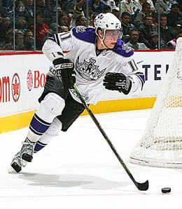 Anze Kopitar has become a serious force for the Los Angeles Kings.