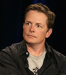 Michael J. Fox spoke to one of the WIND contest winners.