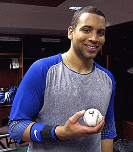 James Loney finished strong for the Los Angeles Dodgers.