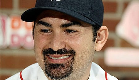 Adrian Gonzalez won his first Silver Slugger for the Boston Red Sox.