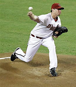 Daniel Hudson got it done on the mound and at the plate for the Arizona Diamondbacks.
