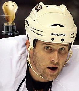 Dustin Penner has been a serious bust for the Los Angeles Kings.