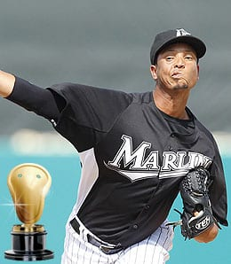 Leo Nunez had a case of mistaken identify for the Florida Marlins.