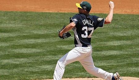 Trevor Cahill has been dealt to the Arizona Diamondbacks.