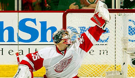 Jimmy Howard has been lights out for the Detroit Red Wings.