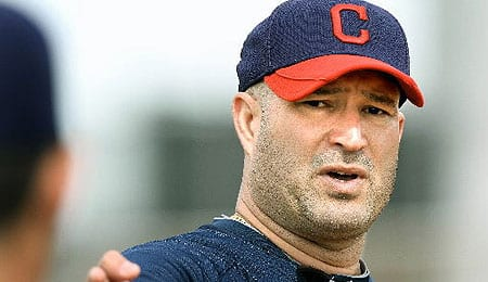 Manny Acta will try to take the Cleveland Indians to the next level in 2012.