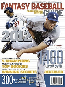 The 2012 Fantasy Baseball Guide