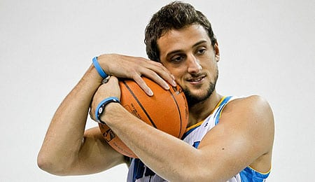 Marco Belinelli has been putting up the points for the New Orleans Hornets.