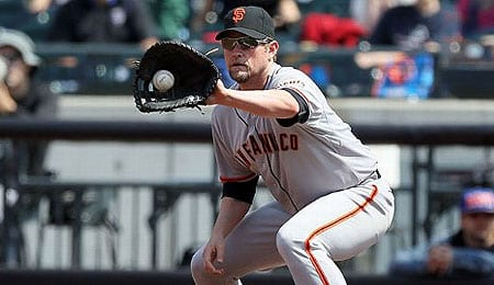 Aubrey Huff is dealing with anxiety issues for the San Francisco Giants.