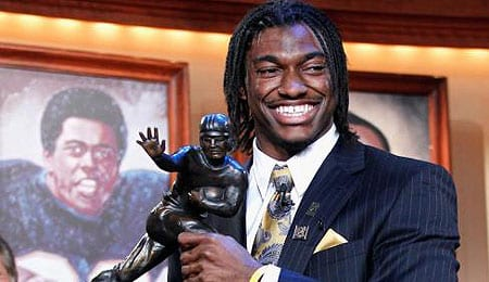 Robert Griffin III should wind up with the Washington Redskins.