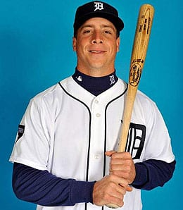 Andy Dirks has been smoking the ball for the Detroit Tigers.