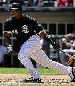 Dayan Viciedo has taken over the cleanup spot for the Chicago White Sox.