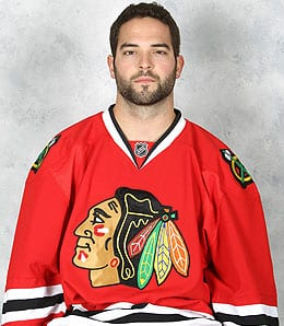 Brandon Bollig will be beating people up for the Chicago Blackhawks.