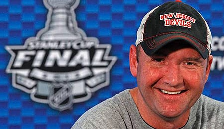 Peter DeBoer has the New Jersey Devils closing in on an incredible comeback.