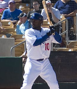 Tony Gwynn, Jr. is hitting well for the Los Angeles Dodgers.