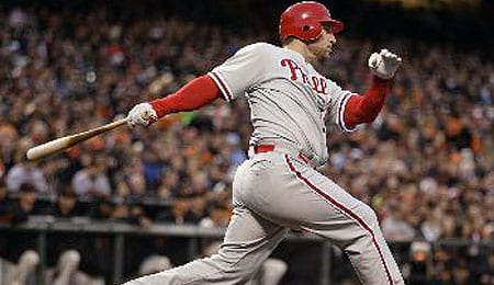 Laynce Nix could be returning for the Philadelphia Phillies shortly.