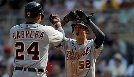 Quintin Berry has been a real spark plug for the Detroit Tigers.