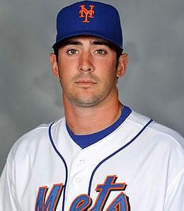 Matt Harvey is looking really good for the New York Mets.
