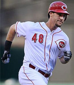 Ryan Ludwick has been cranking dingers for the Cincinnati Reds.