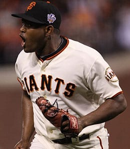 Santiago Casilla has had a bump time lately for the San Francisco Giants.