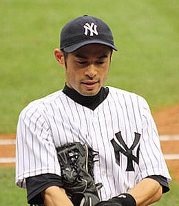 Ichiro Suzuki has played better with the New York Yankees.