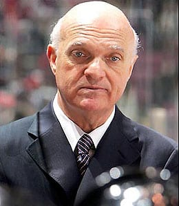 Lou Lamoriello thinks his New Jersey Devils are in good shape.