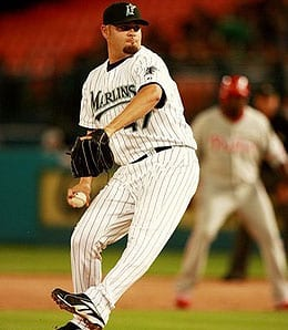 Ricky Nolasco is one of the few Miami Marlins who still makes good money.