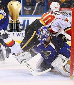Brian Elliott was huge for the St. Louis Blues.