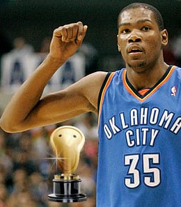 Kevin Durant has taken his game to a new level for the Oklahoma City Thunder.