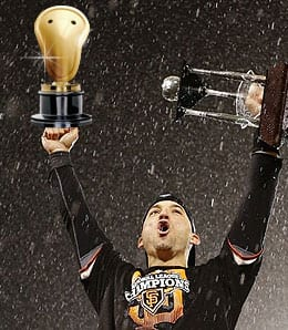 Marco Scutaro was out of his mind good for the San Francisco Giants.