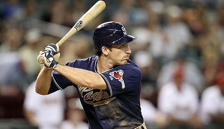 Chris Denorfia enjoyed a career year for the San Diego Padres.