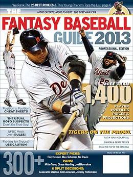 Fantasy Baseball Guide 2013