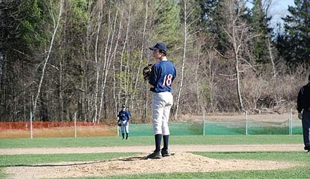 New Hampshire high school pitcher David Drouin looks like a mid-round pick.